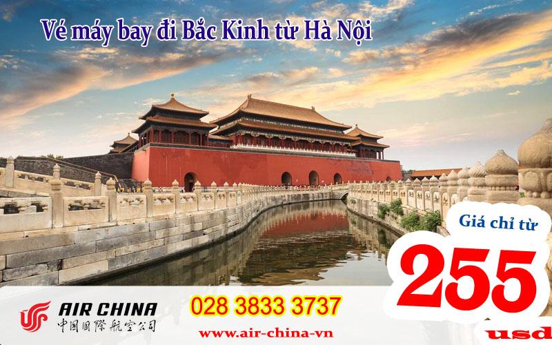 Vé máy bay đi Bắc Kinh từ Hà Nội