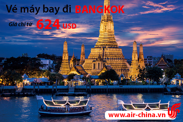 ve may bay di bangkok_airchina