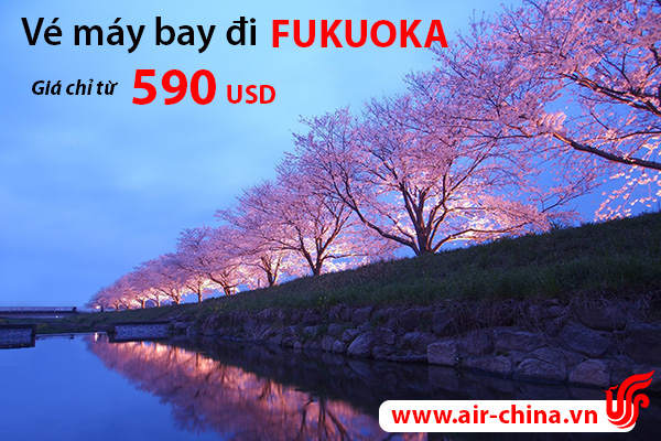 ve may bay di fukuoka_airchina