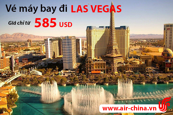 ve may bay di las vegas_airchina