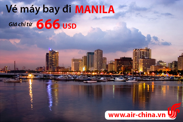 ve may bay di manila_airchina