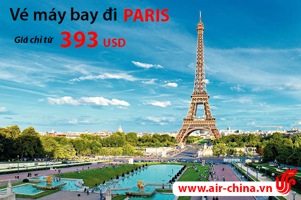 ve may bay di paris_airchina