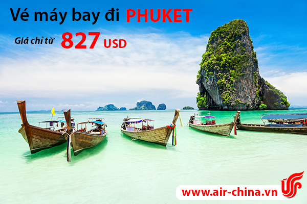 ve may bay di phuket_airchina