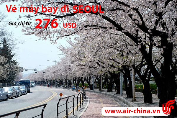 ve may bay di seoul_airchina