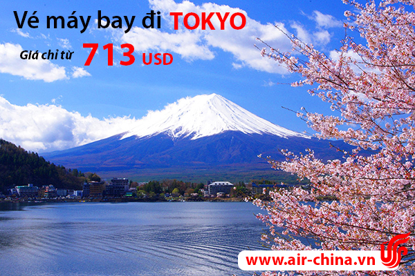 Du lịch Tokyo cùng vé máy bay Air China