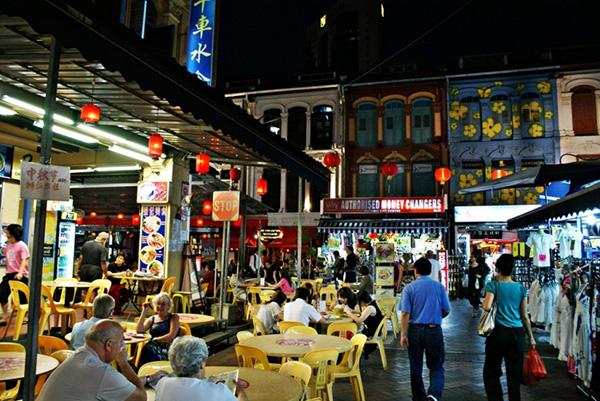 Những khu phố ẩm thực ngon rẻ ở Singapore