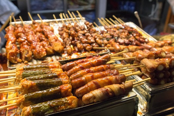 Khám phá những khu ẩm thực nổi tiếng của Seoul