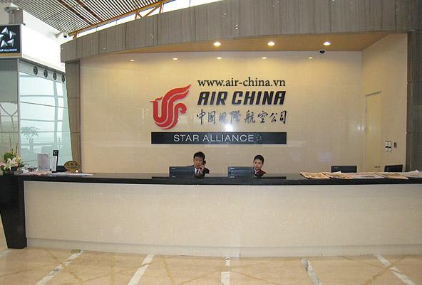 Phòng vé Air China tại Việt Nam
