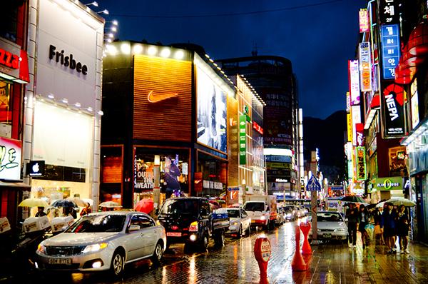 Những địa điểm vui chơi về đêm tại Busan