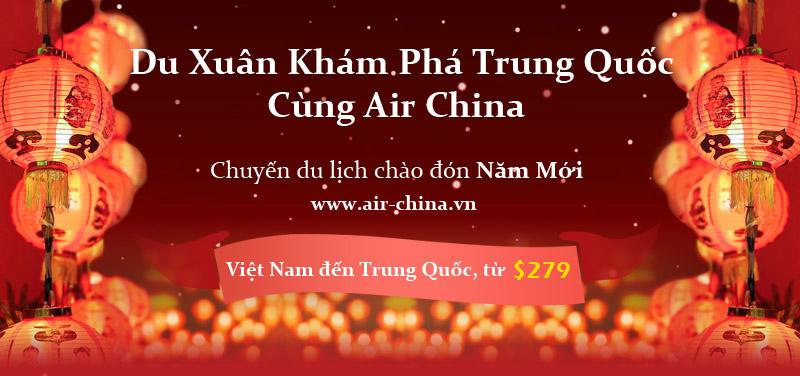 Du xuân khám phá Trung Quốc cùng Air China