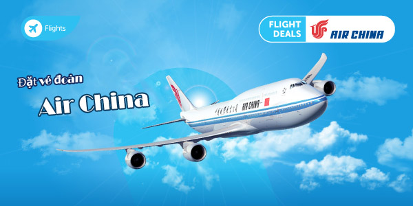 Đặt vé đoàn Air China