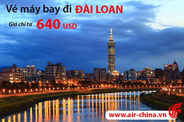 ve may bay di dai loan_airchina