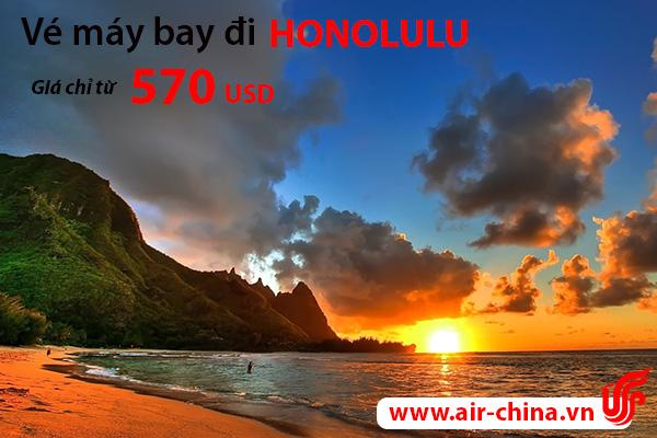 Vé máy bay đi Honolulu giá rẻ