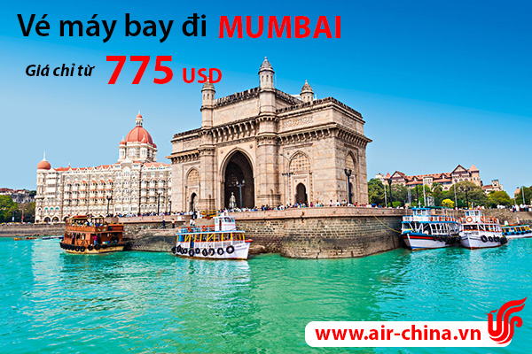 ve may bay di mumbai_airchina