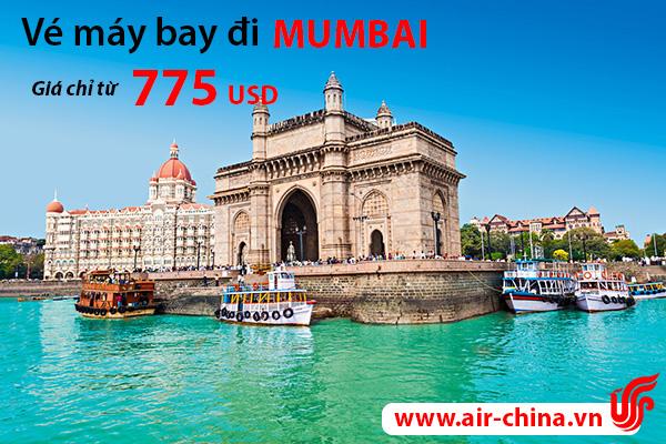 ve may bay di mumbai_airchina