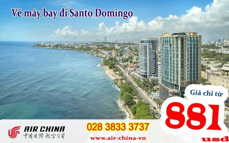 Vé máy bay đi Santo Domingo giá rẻ