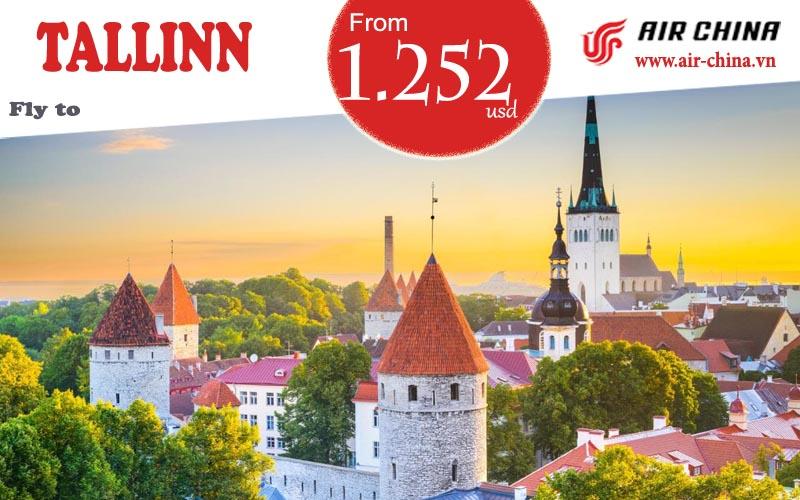 Vé máy bay đi Tallinn giá rẻ