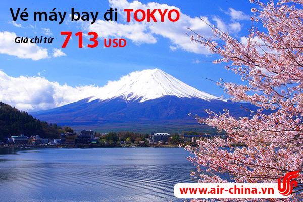 Vé máy bay đi Tokyo giá rẻ
